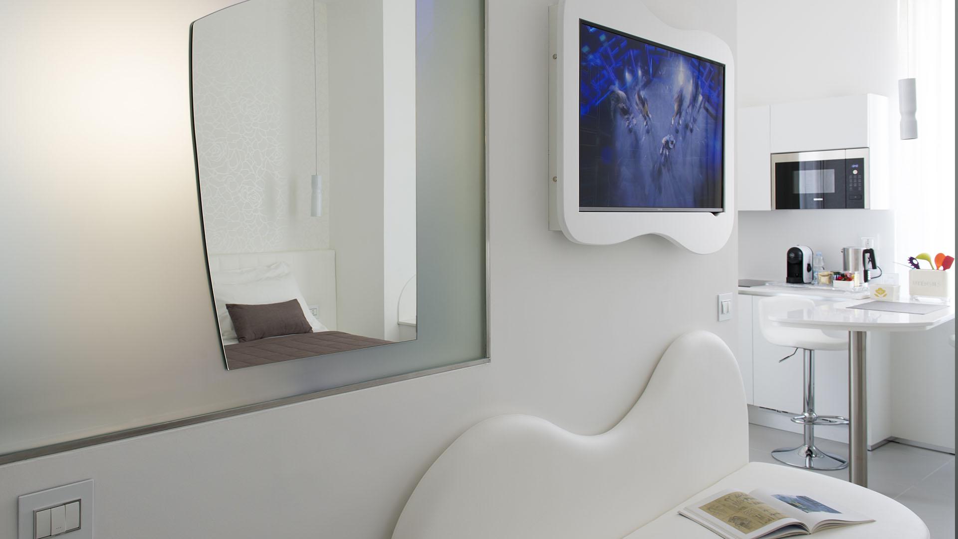 Mia Aparthotel Milano - Appartamento Enjoy - Specchio