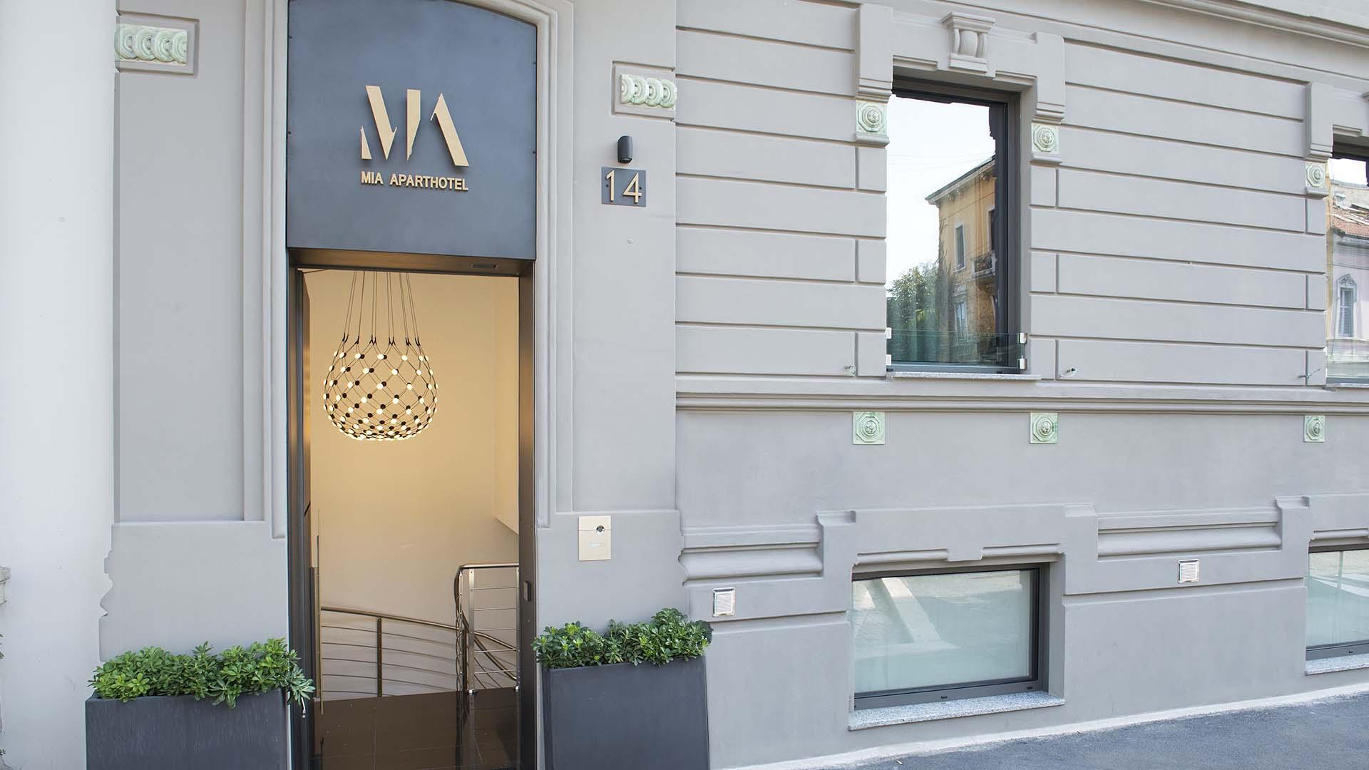 Mia Aparthotel Milano - entrée