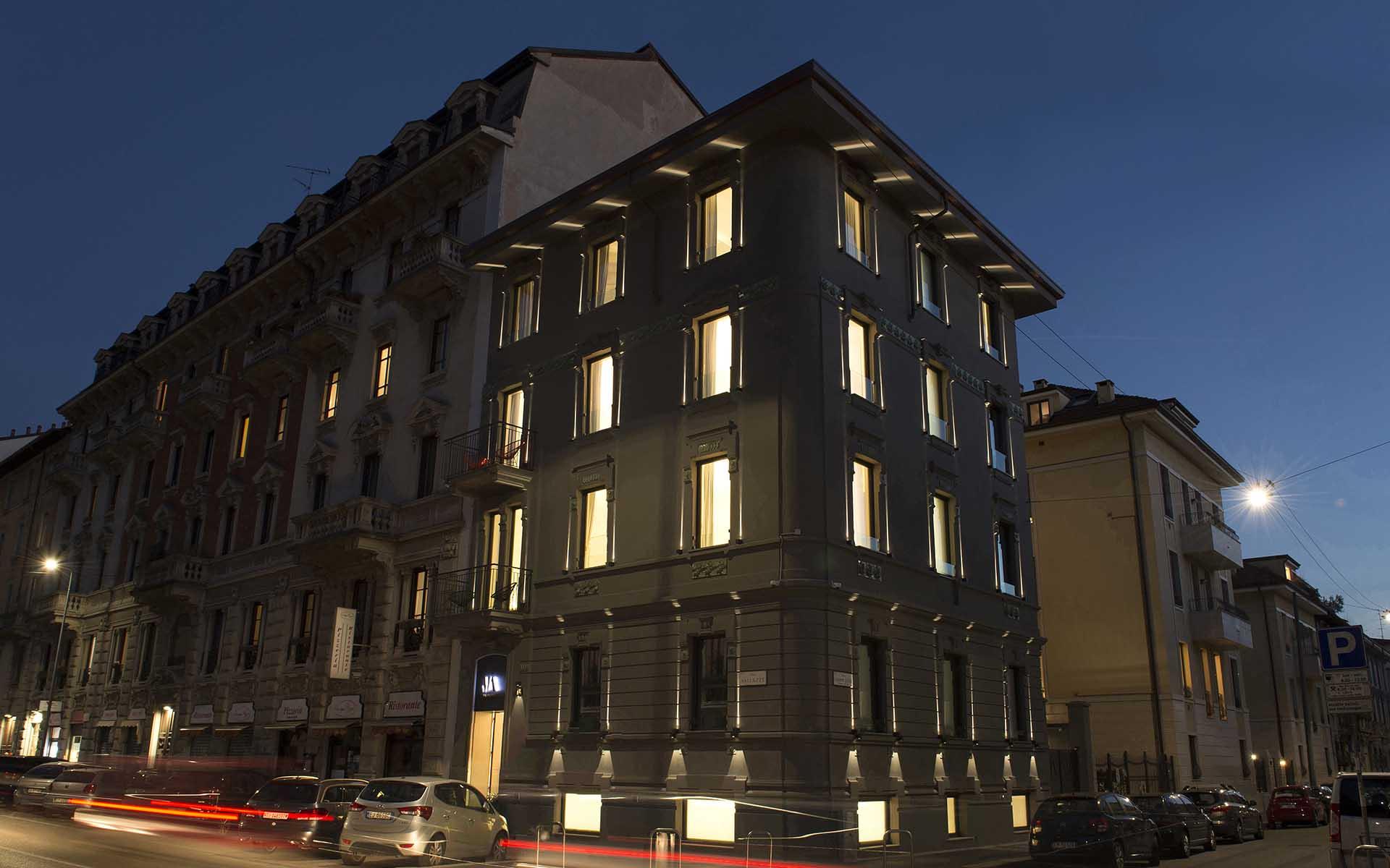 mia aparthotel - vue extérieure du palais